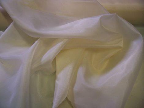 fehér selyem dekoranyag 150 cm széles (méterre)