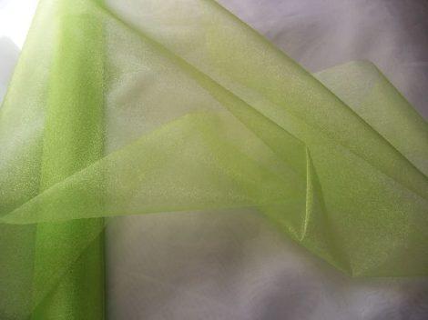 zöld(almazöld) 23,5 cm * 10 m organza