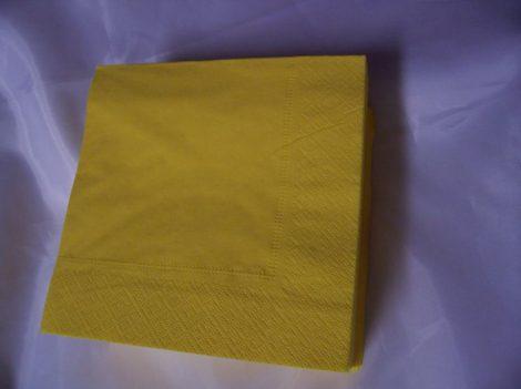 33*33 szalvéta (50 db/cs) citromsárga