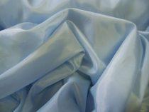 világoskék selyem dekoranyag 150 cm széles (méterre)