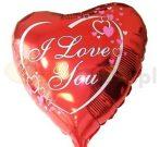 szív lufi I love You !