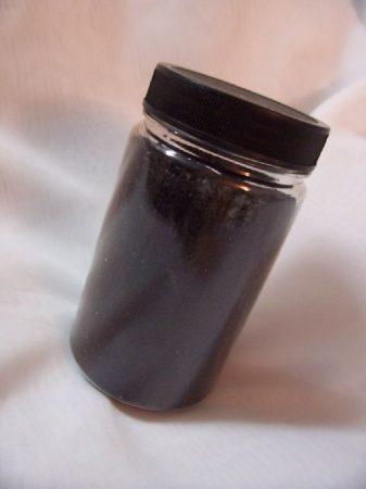 dekorhomok fekete (400 gr.)