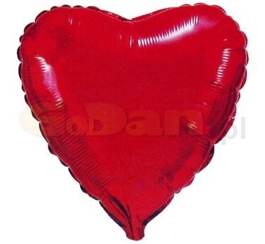 0d1113ee27 szív fólia lufi piros (45cm) - esküvő dekoráció, esküvői dekoráció ...