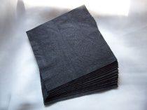 33*33 szalvéta (50 db/cs) fekete