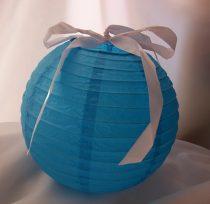lampion gömb 40 cm-es (kék)  (DD16118)