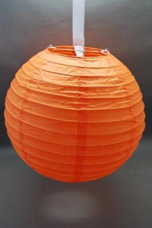 lampion gömb 40 cm-es (narancs)