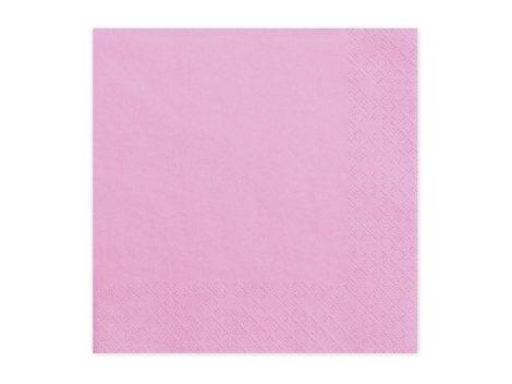 33*33 szalvéta, 3 rétegű (20 db/cs) rózsaszín--081J