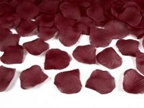rózsaszirom bordás bordó (100 db)