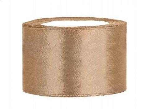 3,8 cm-s szatén szalag (25 m) arany (019J)
