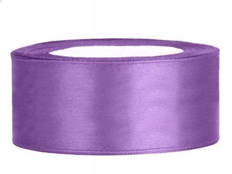 2,5 cm-s szatén szalag (25 m) lila (004)