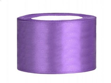 3,8 cm-s szatén szalag (25 m) lila (004)