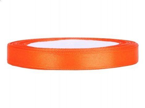 0,6 cm-s szatén szalag (25 m) narancs