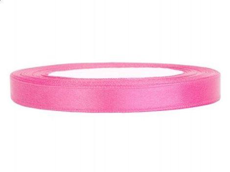 0,6 cm-s szatén szalag (25 m) s.rózsaszín (081)