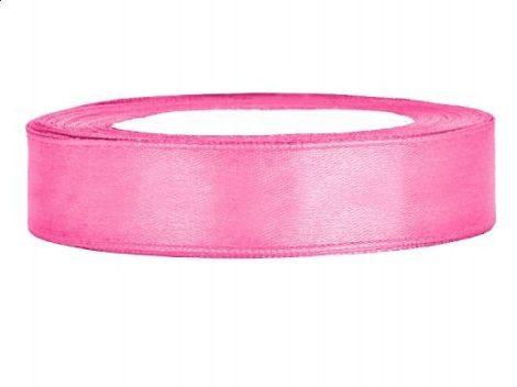 1,2 cm-s szatén szalag (25 m) s.rózsaszín (081)