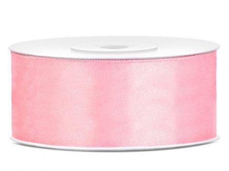 2,5 cm-s szatén szalag (25m) v.rózsaszín (081J)