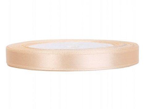 0,6 cm-s szatén szalag (25 m) krém (079)