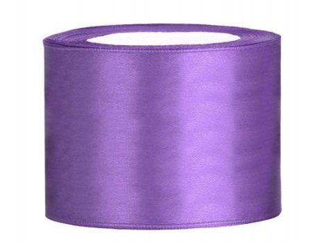 5 cm-s szatén szalag (25 m) lila(004)