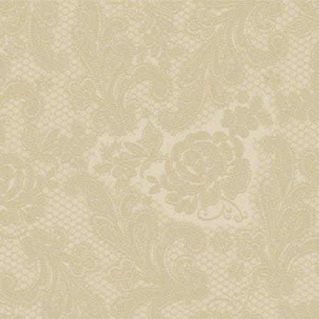homokszín(7438) dombornyomott szalvéta 33x33 (15 db)