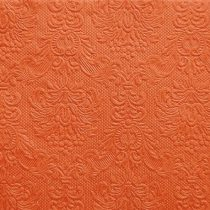 narancs dombornyomott szalvéta 33x33 (15 db)