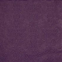 padlizsán (5505)dombornyomott szalvéta 33x33 (15 db)