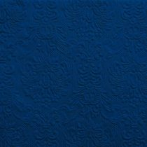 kék dombornyomott szalvéta 33x33 (15 db) AMB