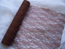 Csipke dekoanyag barna-044 (29 cm *5 m)