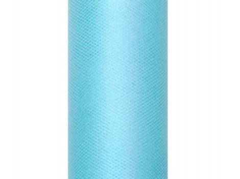 türkiz tüll 30 cm * 9 m, puha