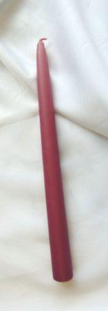 mályva gyertya (25 cm)