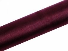 organza (16 cm * 9 m) bordó 082