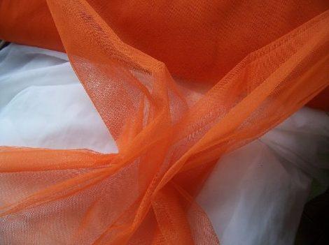 Tüll narancssárga (1,5 m széles)