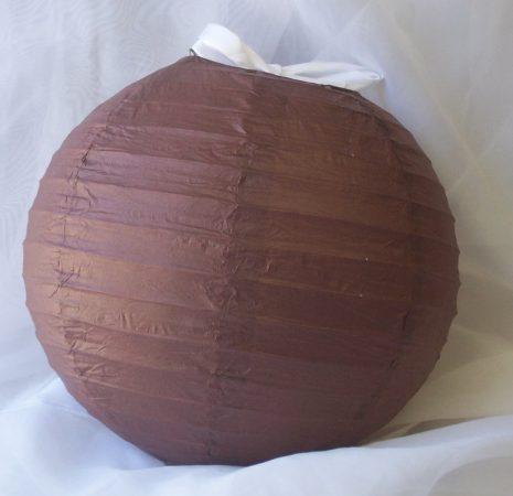 lampion gömb 40 cm-es, (cappuccino)29666