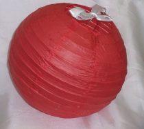 lampion gömb 40 cm-es, (piros)29667