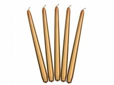 arany conus gyertya (23 cm)