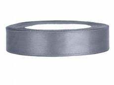 1,2 cm-s szatén szalag (25 m) ezüst (091)