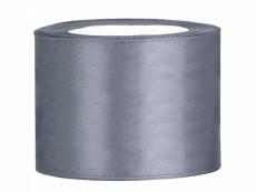 5 cm-s szatén szalag (25 m) ezüst (091)