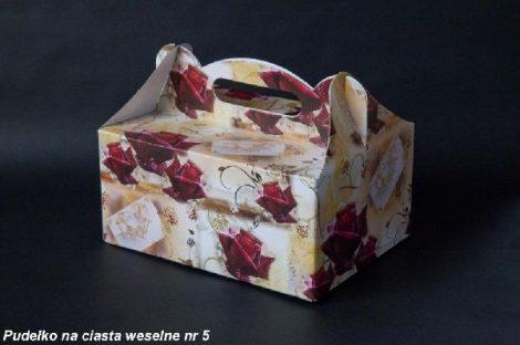 Sütis doboz bordó rózsás (19,5*14*9 cm)