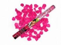 Konfetti ágyú esküvői (rózsaszín szirommal) 60 cm