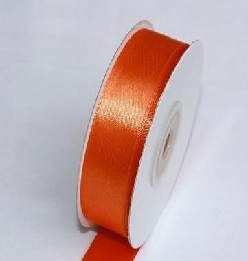 Szatén szalag narancs (HS-1012)-(0,6 cm * 22 m)