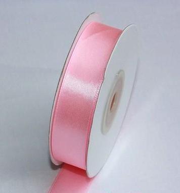 Szatén szalag világos rózsaszín (HS-1043)-(0,6 cm * 22 m)