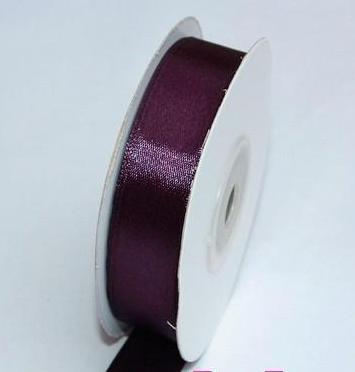 szatén szalag padlizsán lila (HS-1057)-(3,8 cm*22 m)