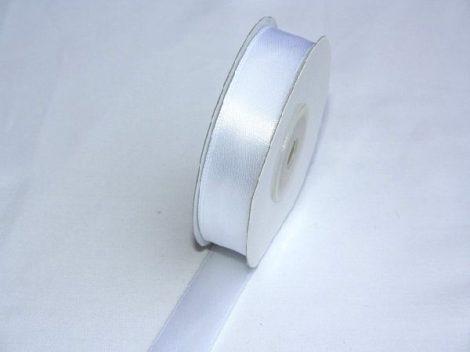Szatén szalag fehér (HS-1001)-(5 cm * 22 m)