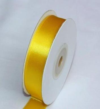 Szatén szalag citromsárga (HS-1007)-(5 cm * 22 m)