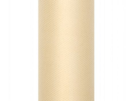 tüll dekoranyag, krém (079)- 50 cm*9 m, puha