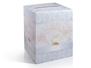 nászajándékgyűjtő doboz (25x25x30 cm)