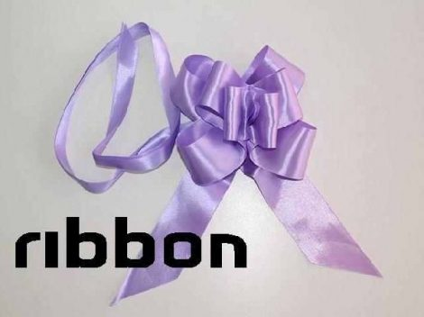 szatén gyorsmasni óriás (5 cm * 90 cm), lila
