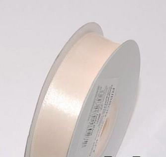 Szatén szalag ekrü (HS-1058)- 3,8 cm * 22 m