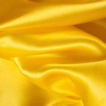 Szatén selyem sárga (150 cm széles)