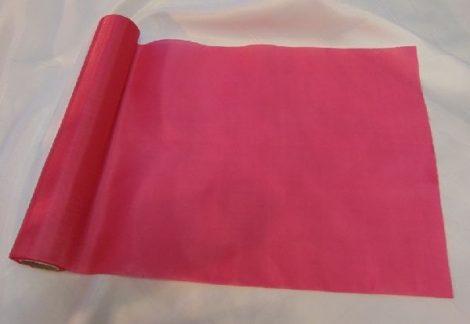 Selyem dekoranyag asztali futó pink (25 cm * 10 m)