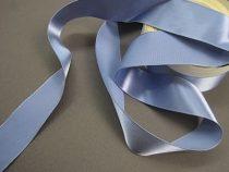 Szatén szalag vintage kék(HS-652C) (0,6 cm *22 m)