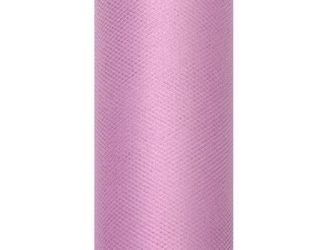 Tüll mályva-081P (30 cmx9 m) puha